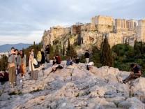 Coronavirus - Akropolis geschlossen