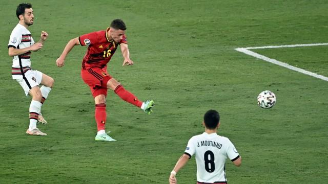 Fußball EM - Belgien - Portugal