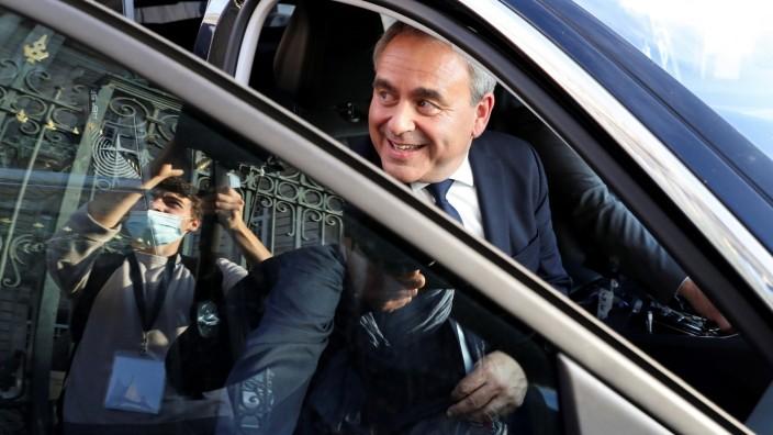 Setzte sich in der Region Hauts-de-France durch: der Konservative Xavier Bertrand.