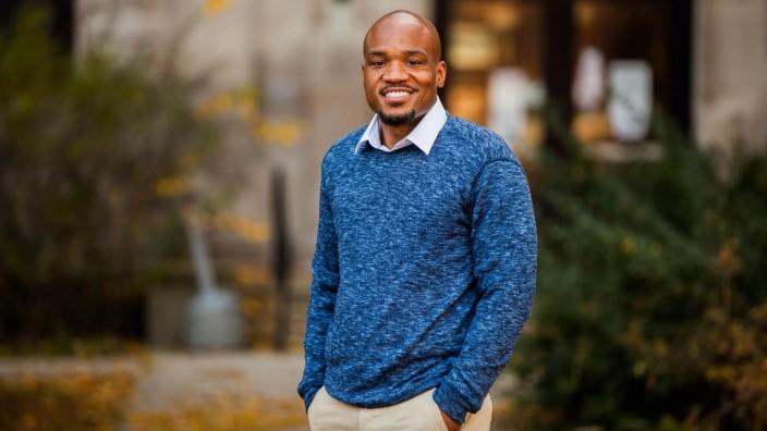 """USA: """"Die Stadt hat alles getan, um die Schwarzen aus den weißen Vierteln zu vertreiben"""", sagt Bobby Burns, der den Fifth Ward im Stadtrat von Evanston vertritt."""