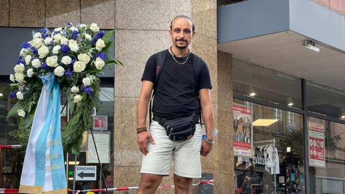 Helfer in Würzburg: Für den kurdischen Asylbewerber Chia Rabiei aus dem Iran war es selbstverständlich zu helfen.