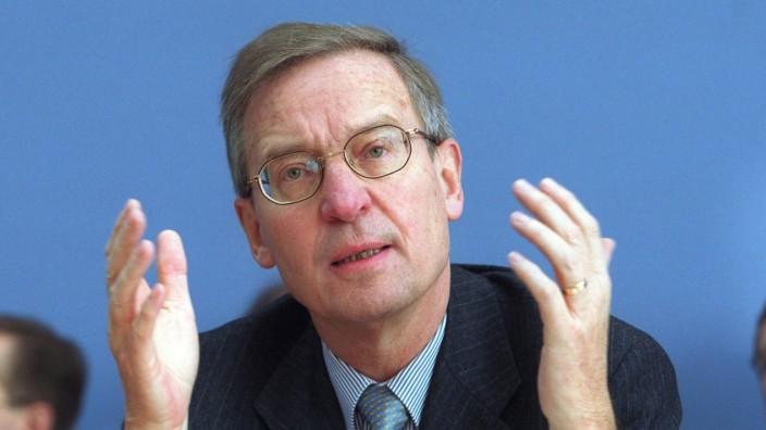 Prof Dr Juergen Donges Professor für Wirtschaftliche Staatswissenschaften an der Universität zu K