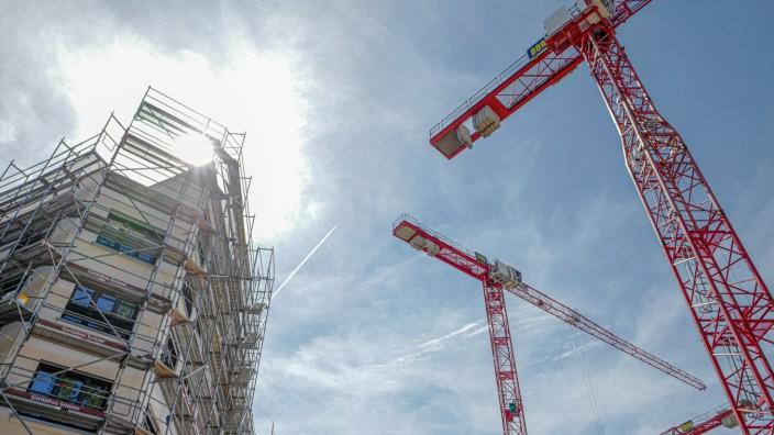 Wohnen in München: Die Preise für Wohnungen steigen, egal, ob für Altbau oder für Neubauten wie hier auf dem ehemaligen Paulaner-Gelände.