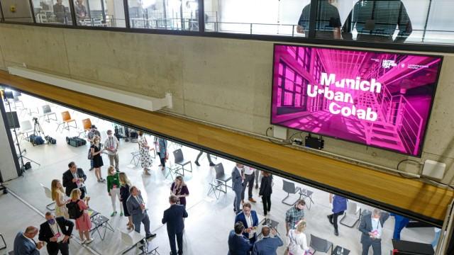 Zusammenarbeit zwischen Stadt und Unternehmer-TUM: Viel Licht und viel Platz für Kreativität gibt es im Munich Urban Colab.