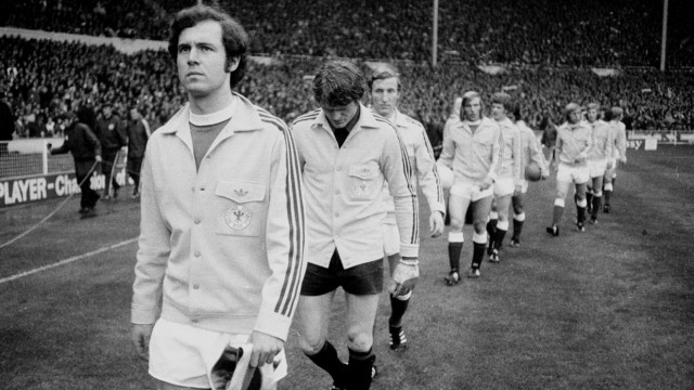 Europameisterschaft 1972 Viertelfinale Hinspiel England Deutschland 1 3 29 4 1972 in Wembley M