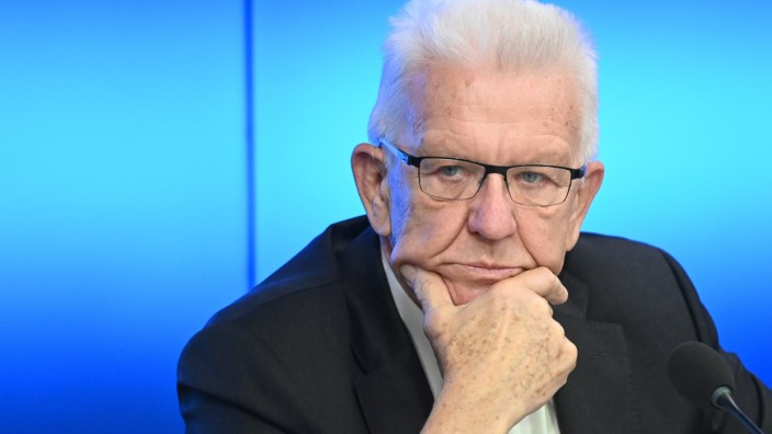 Baden-Württembergs Ministerpräsident Winfried Kretschmann betrachtet das Bildungsministerium des Bundes mit Skepsis.