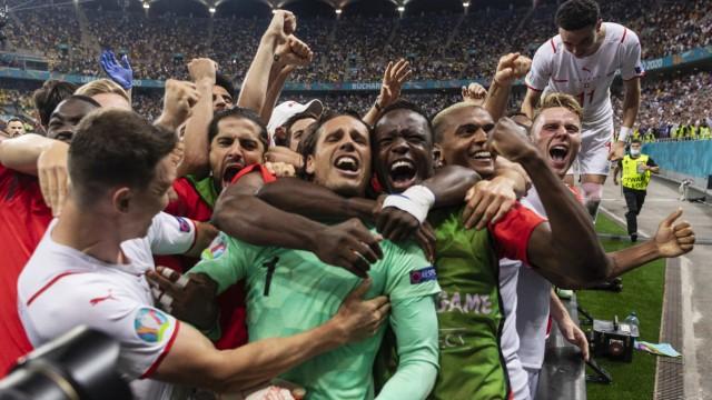 Fußball EM - Frankreich - Schweiz