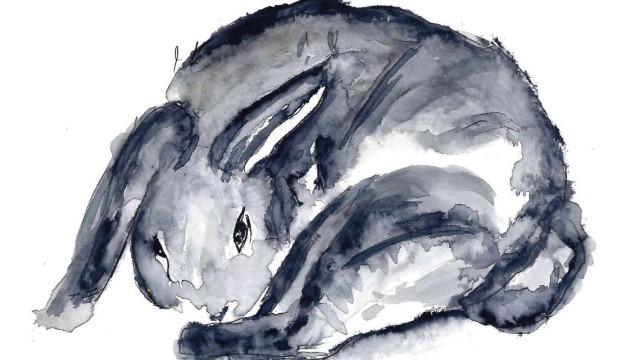 Kinderliteratur: Der ausgebüxte Hase ist eine Geburt der Pandemie. Illustration: Mona Ragheb