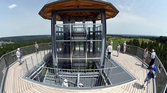 Eröffnung des Aussichtsturms Himmelsglück