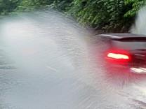 Wetter: Schwere Gewitter sorgten für Chaos