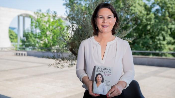Annalena Baerbock stellt Buch vor