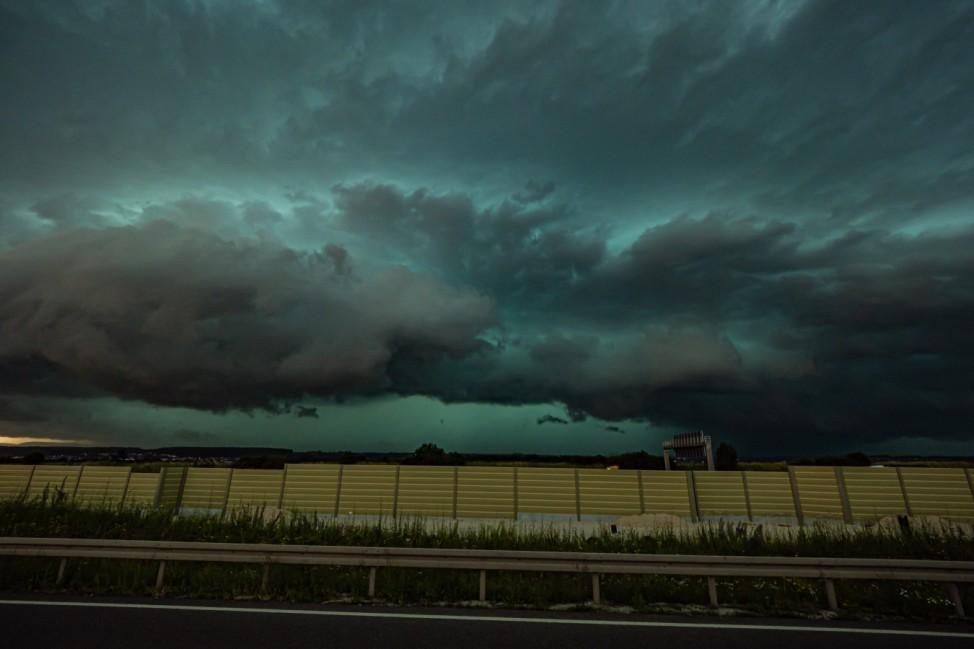 Unwetter in Baden-Württemberg