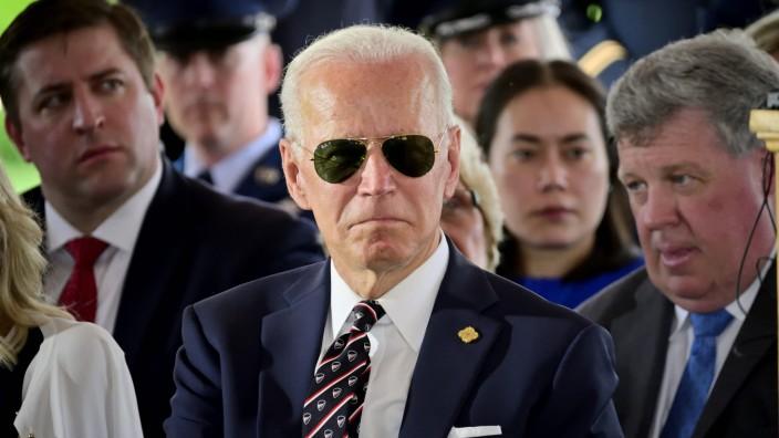May 30 2019 New Castle Delaware United States Presidential hopeful Former Vice President Joe