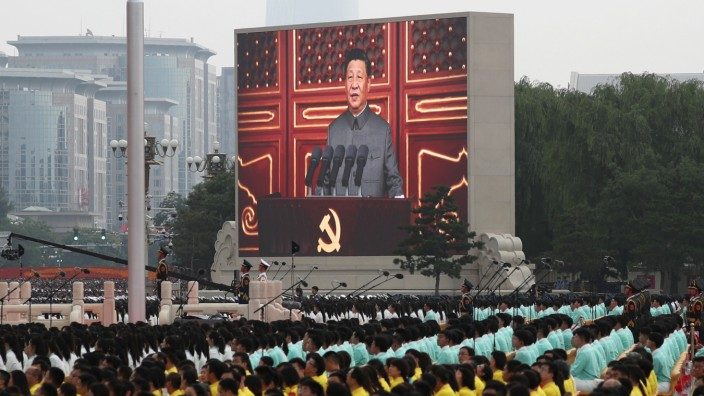 The 100th founding anniversary of the Communist Party of China in Beijing