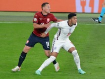 Football - 2021 UEFA European Championships - Finals - Group D - Czech Republic vs England - Wembley Stadium Jadon Sanch