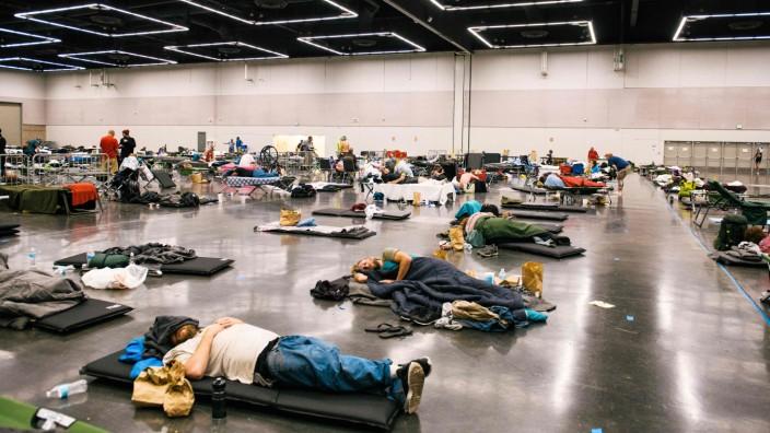 """Klimakolumne: Ein neues Wort für eine neue Zeit: In Portland, Oregon, hat man ein """"Kühlungszentrum"""" eingerichtet."""