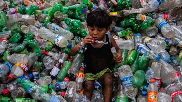 Plastik-Recycling in Bangladesch