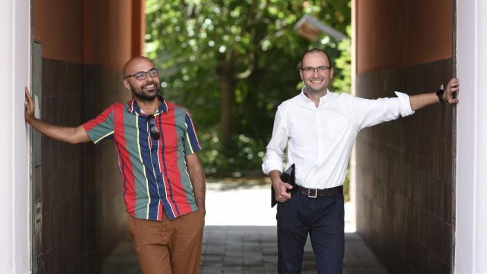 Jurgis Karpus und Bahador Bahrami, 2021