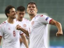 Fußball EM - Tschechien - Dänemark