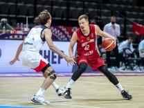 Basketball - Russland - Deutschland