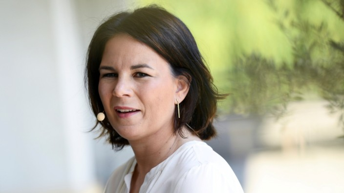 FILE PHOTO: Germany's Green party candidate for chancellor Baerbock presents her book 'Jetzt: Wie wir unser Land erneuern\