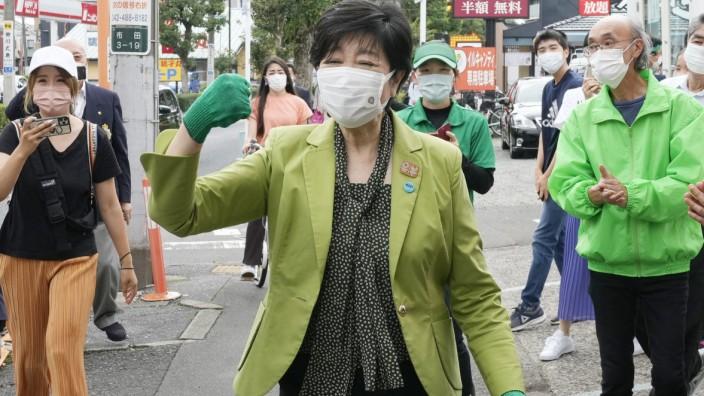 Wahl zum Lokalparlament in Tokio