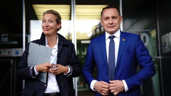 AfD stellt Spitzenduo für die Bundestagswahl 2021 vor