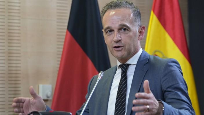 Außenminister Maas in Spanien