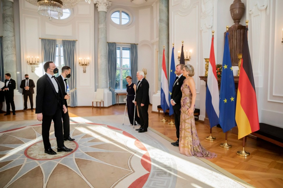 King Willem-Alexander and Queen Maxima of the Netherlands visit Germany