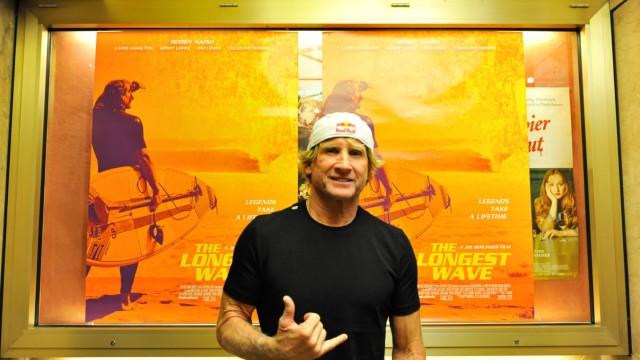 Surf-Weltmeister: Robby Naish findet, im Dokumentarfilm über ihn sei zu wenig Action drin. Zur Premiere am Sendlinger Tor kam er trotzdem.