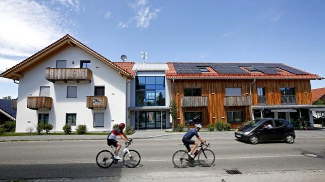 Mietpreise: In Münsing an der Hauptstraße sind es zwölf Wohneinheiten beim kommunalen Wohnungsbau entstanden.