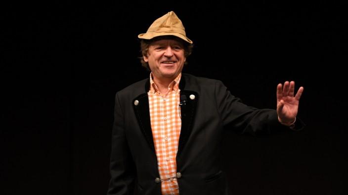Frank-Markus Barwasser alias Erwin Pelzig bei Auftritt in Unterschleißheim, 2017
