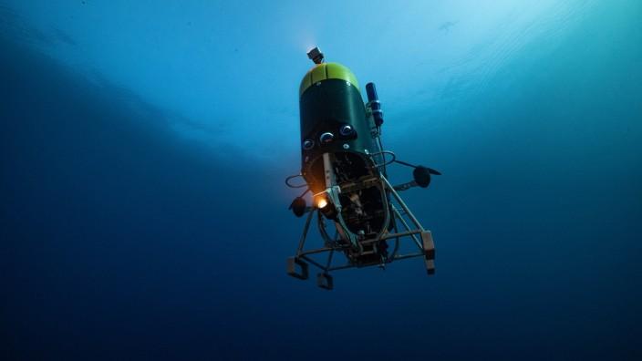 """Meereswissenschaften: """"Mesobot"""" kann über ein Kabel ferngesteuert werden oder autonom arbeiten."""