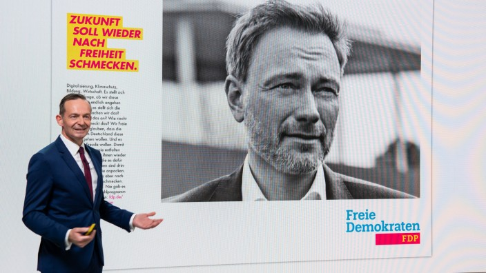 FDP-Kampagne zur Bundestagswahl