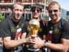 Weltmeister 2014: Andy Köpke, Jogi Löw und Hansi Flick