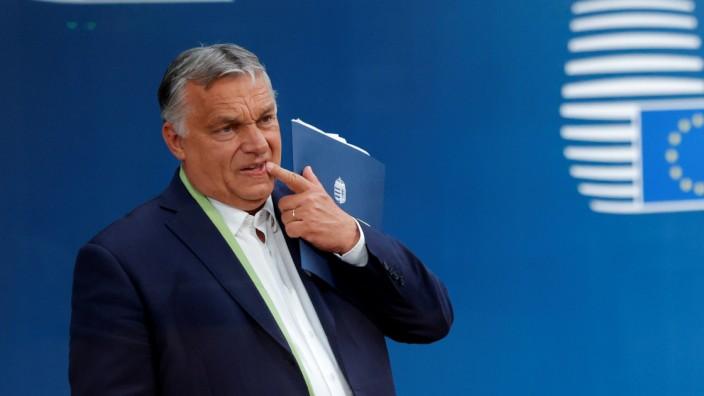 Die Rechtsbrüche seiner Regierung könnten nun doch Folgen haben: Ungarns Ministerpräsident Viktor Orbán in Brüssel.