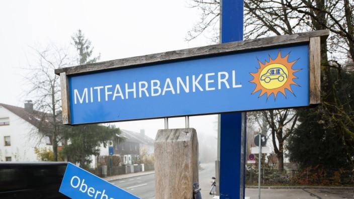 Mitfahrbankerl in Höhenkirchen, 2019