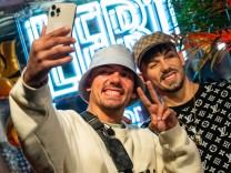 Wachsfigur des Deutsch-Rappers Capital Bra