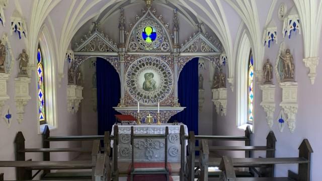SZ-Serie: Urlaub daheim: Die Kapelle ist bis heute erhalten.