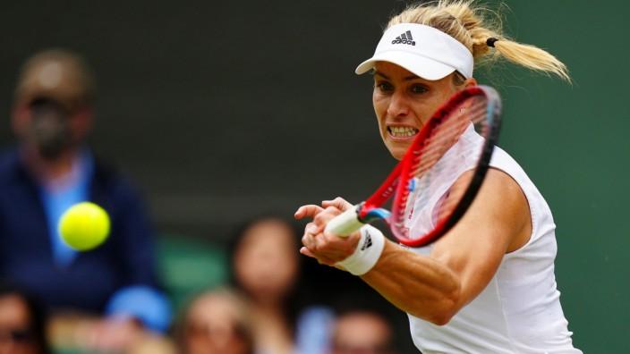 Wimbledon 2021: Angelique Kerber im Halbfinale gegen Ashleigh Barty