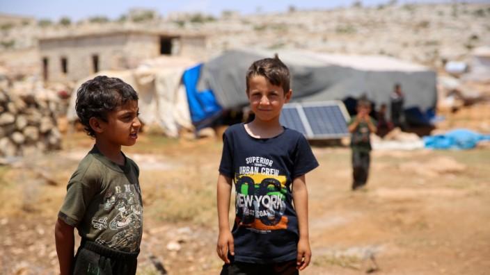 Flüchtlingslager in Syrien
