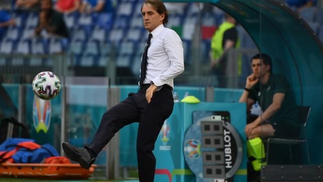 Foto Alfredo Falcone - LaPresse 20/06/2021 Roma (Italia) Calcio Italia - Galles Campionato Europeo di Calcio - Olimpico ;  X