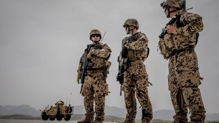 FILE PHOTO: German Bundeswehr soldiers in Afghanistan