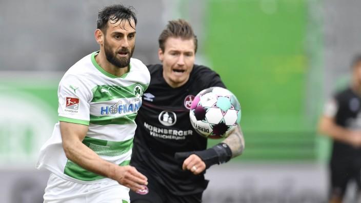 21.03.2021 - Fussball - Saison 2020 2021 - 2. Fussball - Bundesliga - 26. Spieltag: SpVgg Greuther Fürth ( Kleeblatt )