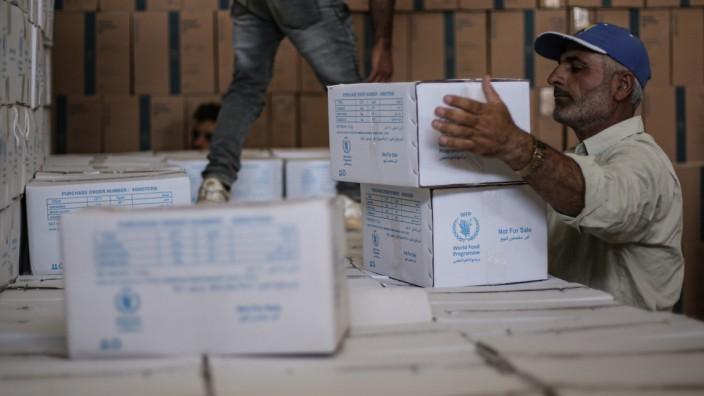 UN-Hilfe für Millionen Syrer droht Aus