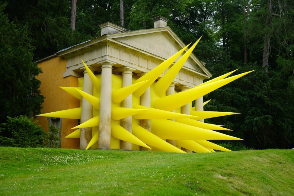 BESTPIX: Artist Steve Messam Launches New Exhibition At Fountains Abbey