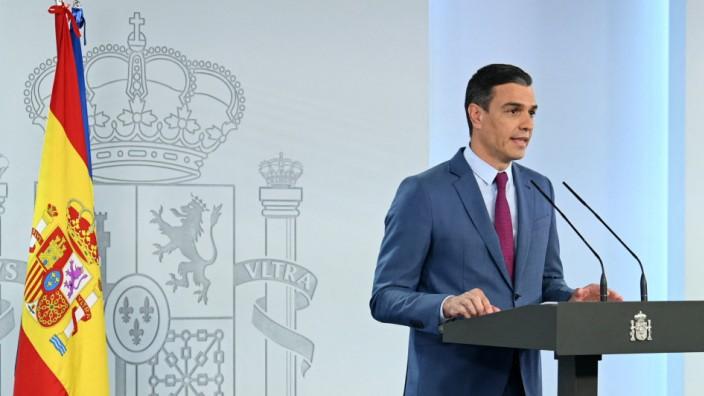Spanien: Spaniens Ministerpräsident Pedro Sánchez verkündet den bislang größten Umbau seiner Regierung.
