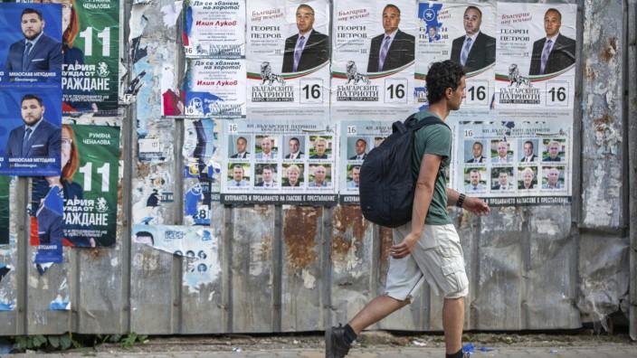 Vor der Parlamentswahl in Bulgarien