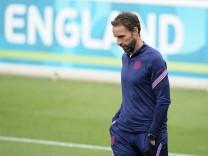 Fußball EM - Training England