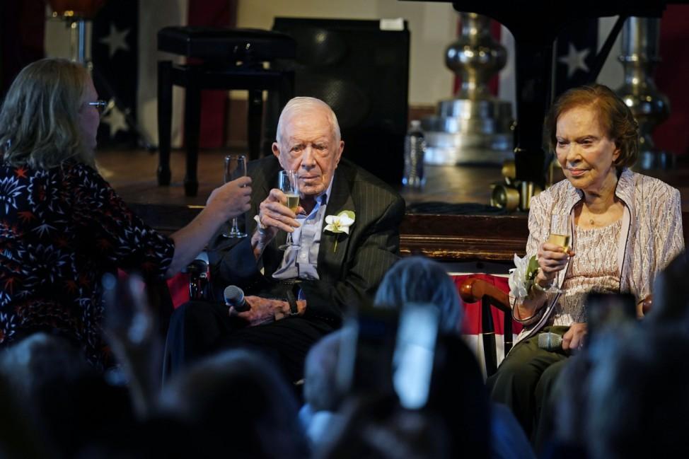 75. Hochzeitstag Jimmy Carter